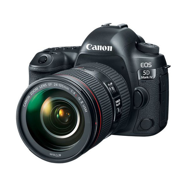 Canon EOS 5D Mark IV DSLR Camera with 24-105mm f/4L II Lens DSLR Cameras Canon