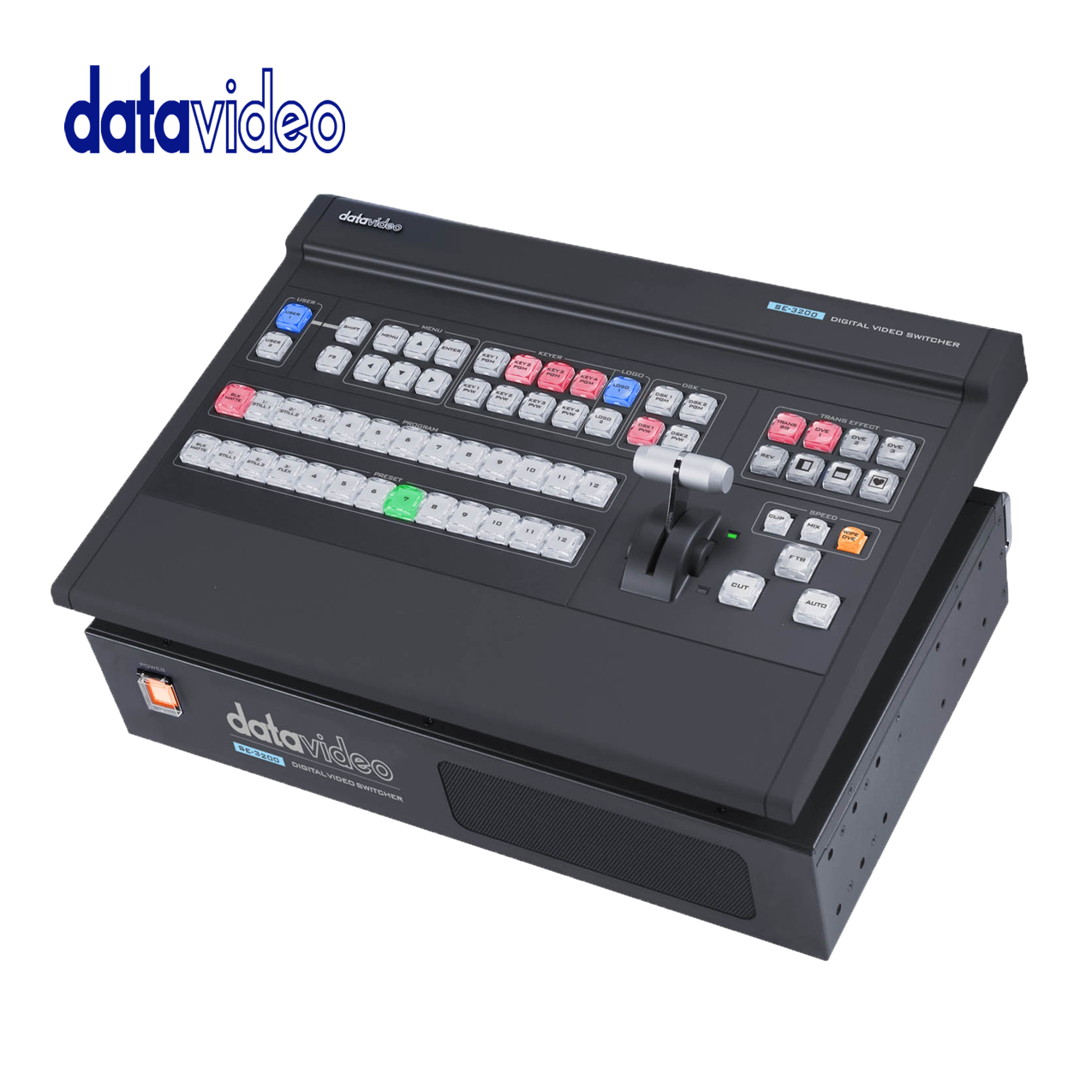Datavideo's Most Advanced 12 Input 1080P 50/60 Switcher Pro Video Data Video