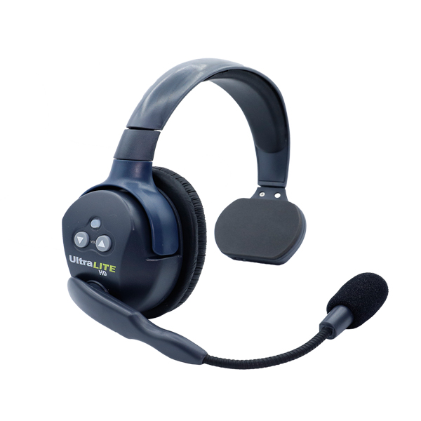 Eartec Ultralite HD Single Remote Headset  W/ Rechargable Lithium  Battery Intercom Systems Eartec