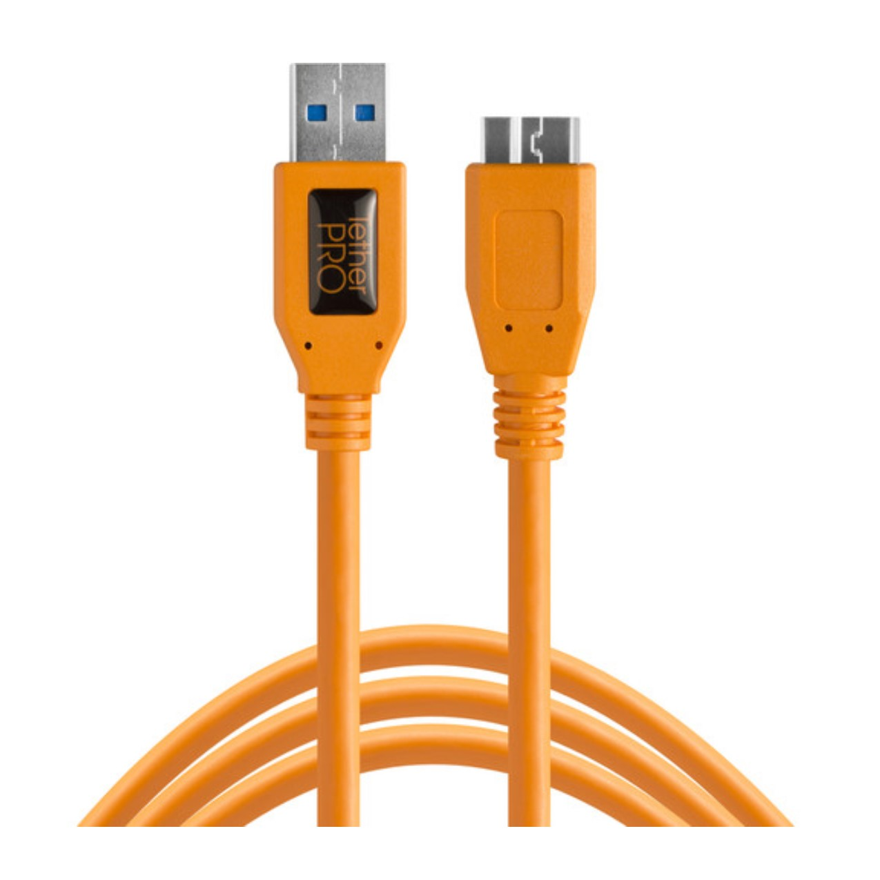 Tetherpro Usb 3.0 Male Type-A To Usb 3.0 Micro-B Cable (15′, Orange) Cabel & Accessories Cabel & Accessories