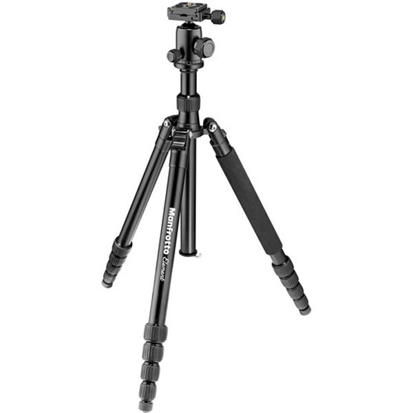 Manfrotto Element Big Aluminum Traveler Tripod (Black) Photography Manfrotto
