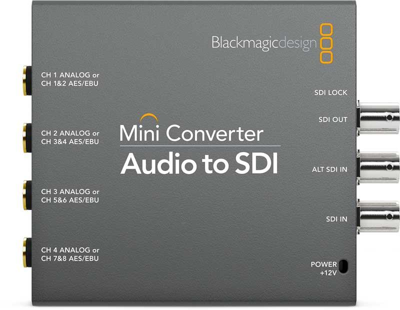 Blackmagic Design Audio to SDI Mini Converter2 CONVMCAUDS2