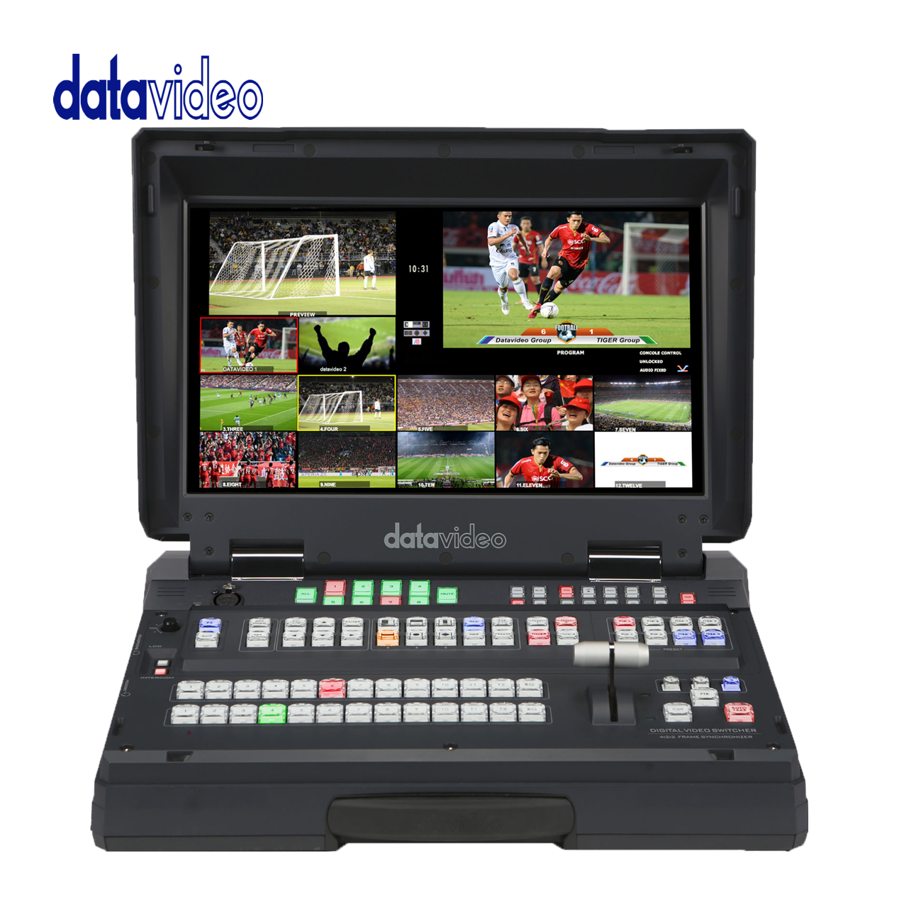 Datavideo HS-2850 HD/SD 12-Channel Portable Video Studio Pro Video Data Video