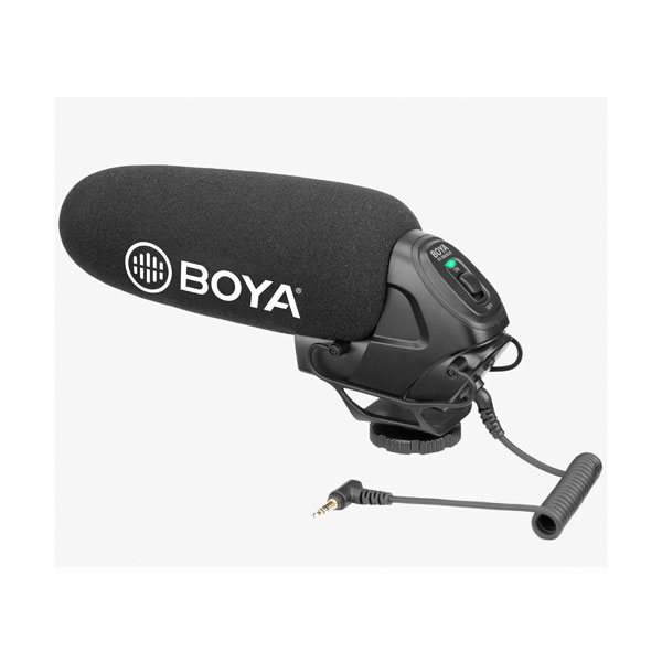BOYA BY-BM3030 On-Camera Supercardioid Shotgun Microphone Audio audio