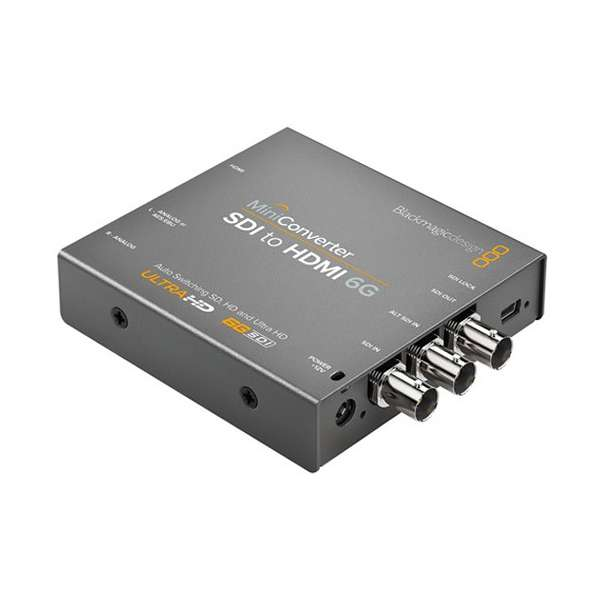 Blackmagic Design SDI to HDMI 6G Mini Converter CONVMBSH4K6G Pro Video Black Magic