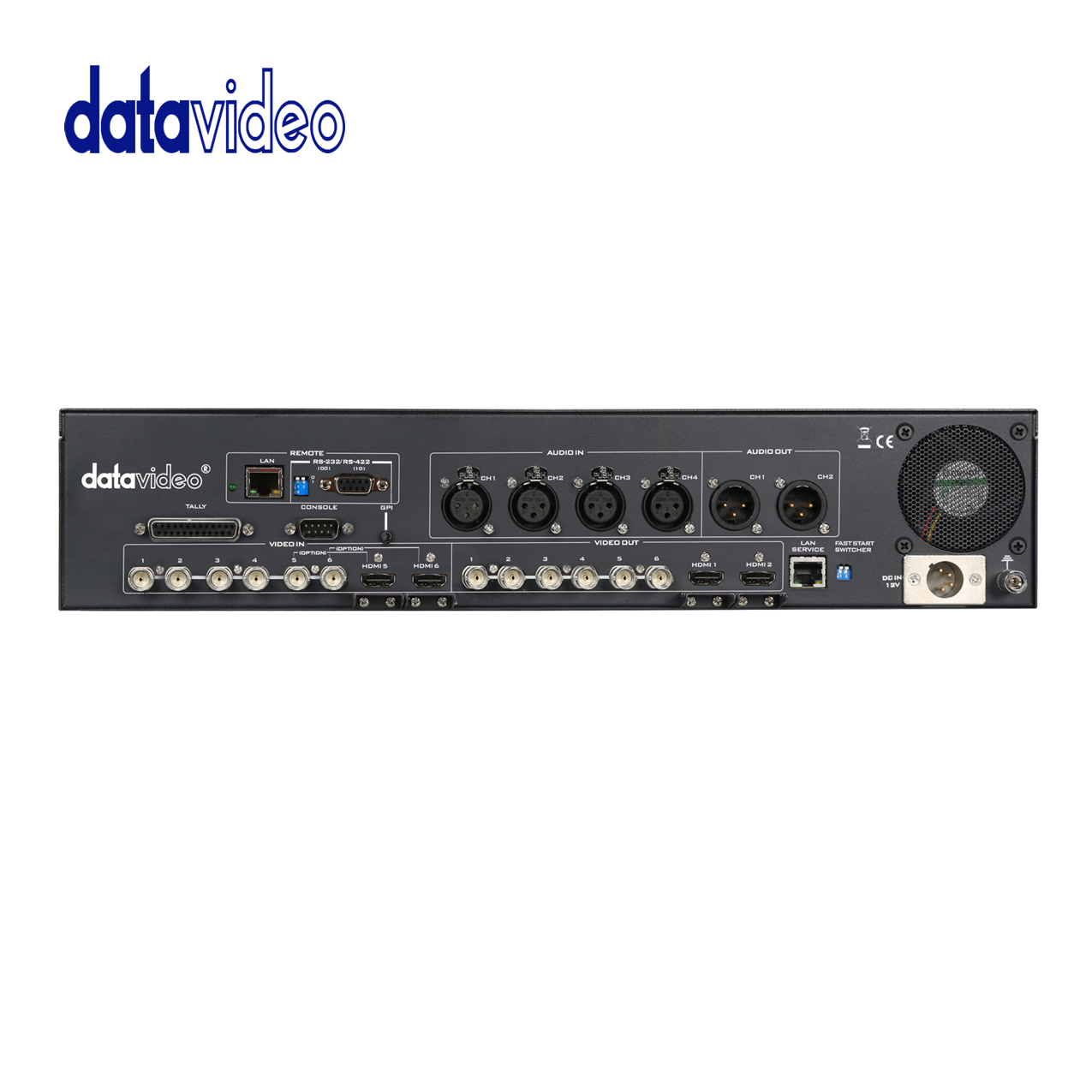 Datavideo SE-2200 / 6 Input HD Broadcast Quality Switcher Pro Video Data Video