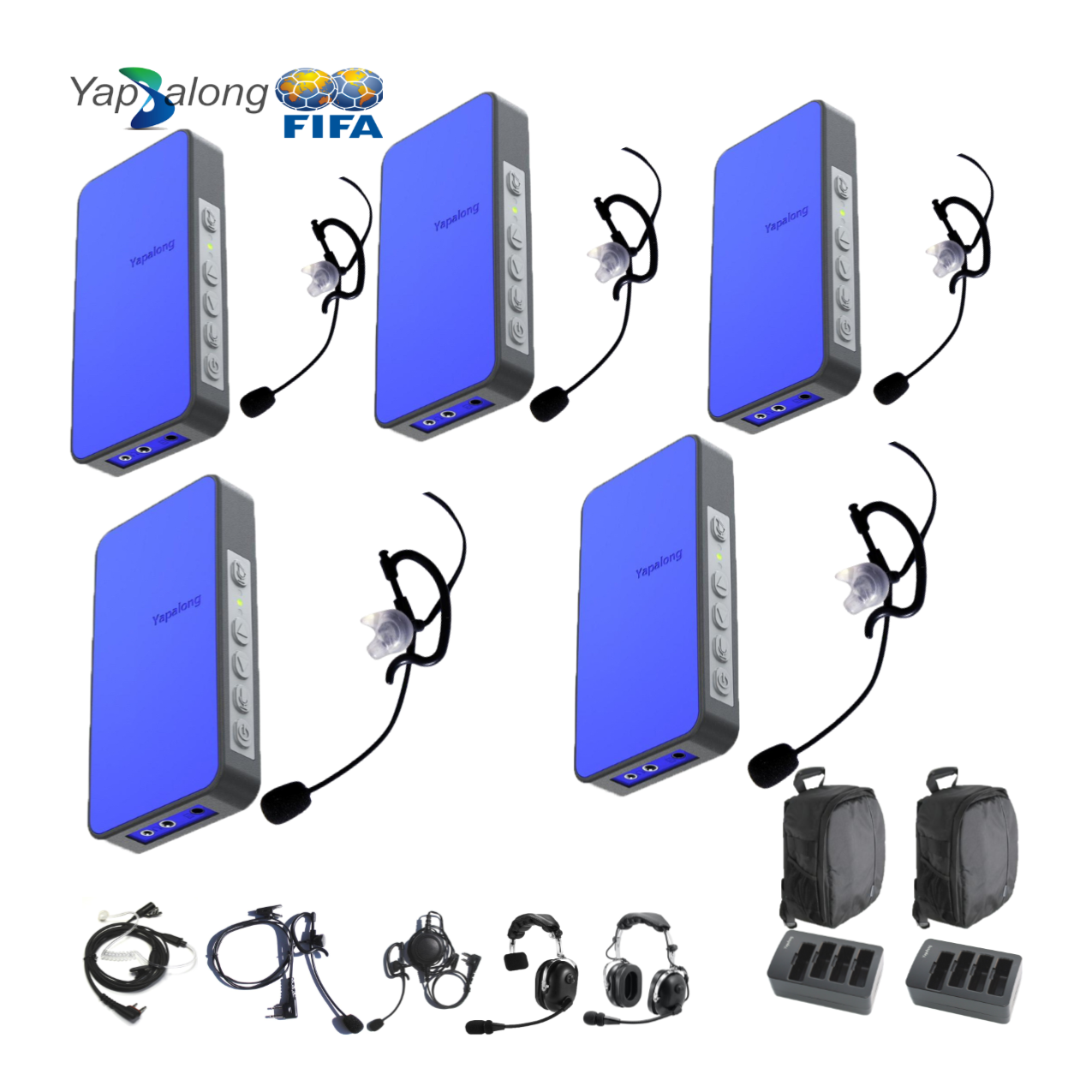 Yapalong 5000 (5-User) Complete Set Intercom Systems Intercom Systems
