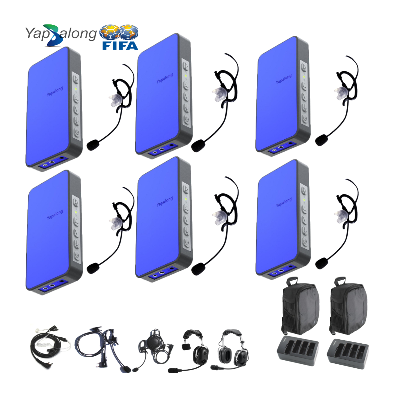 Yapalong 5000 (6-User) Complete Set Intercom Systems Intercom Systems