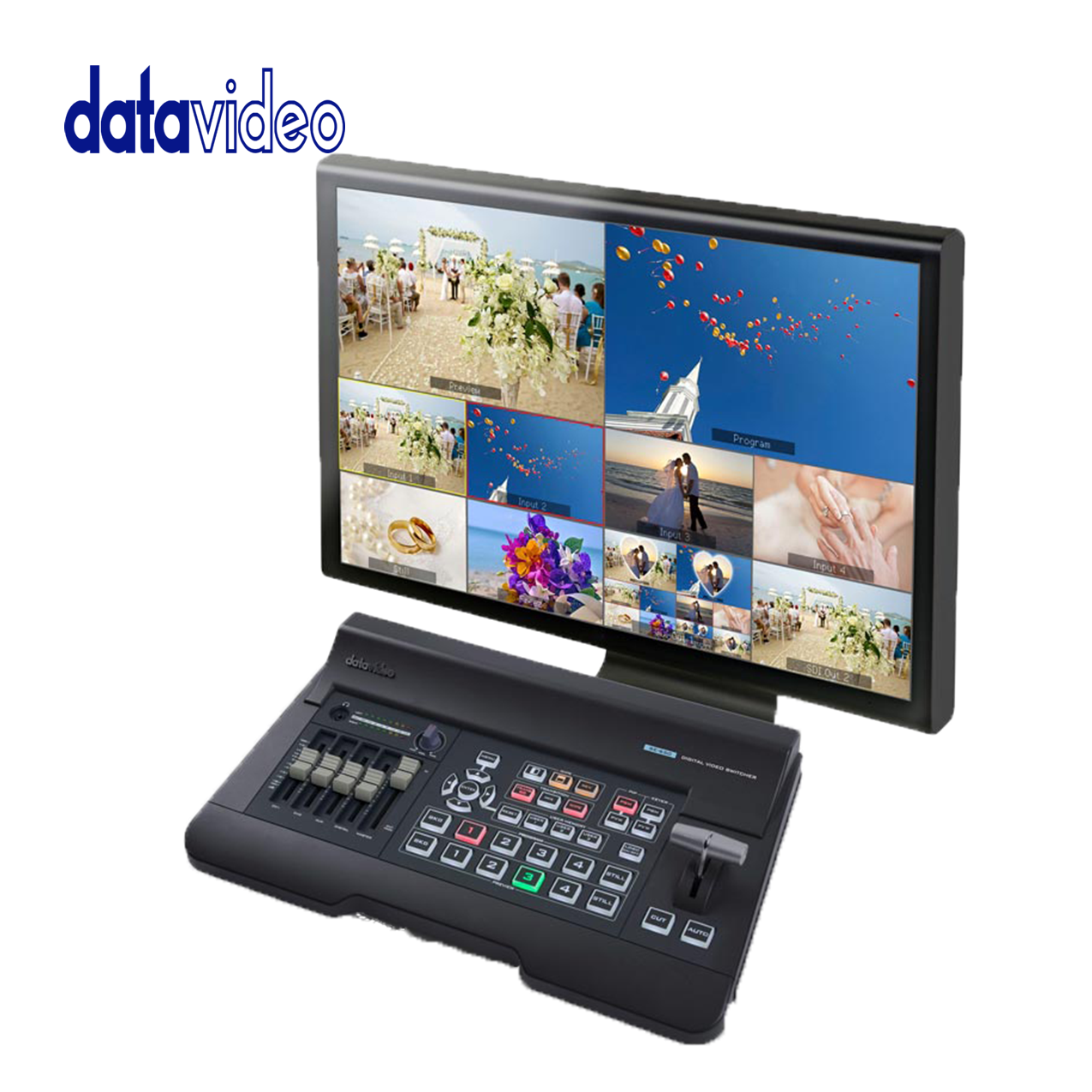 Data Video SE-650 4 Input HD Digital Video Switcher Pro Video Data Video