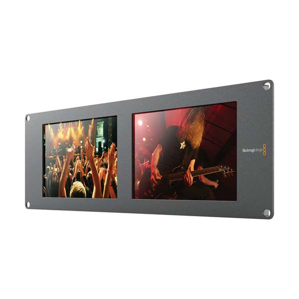 Blackmagic Design SmartView Duo2 Rackmountable Dual 8″ LCD Monitors