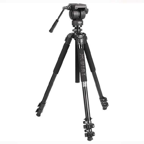 Diat Professional Video Tripod Monopod With Fluid Head TA253A-KS5P Monopods & Accessories Diat