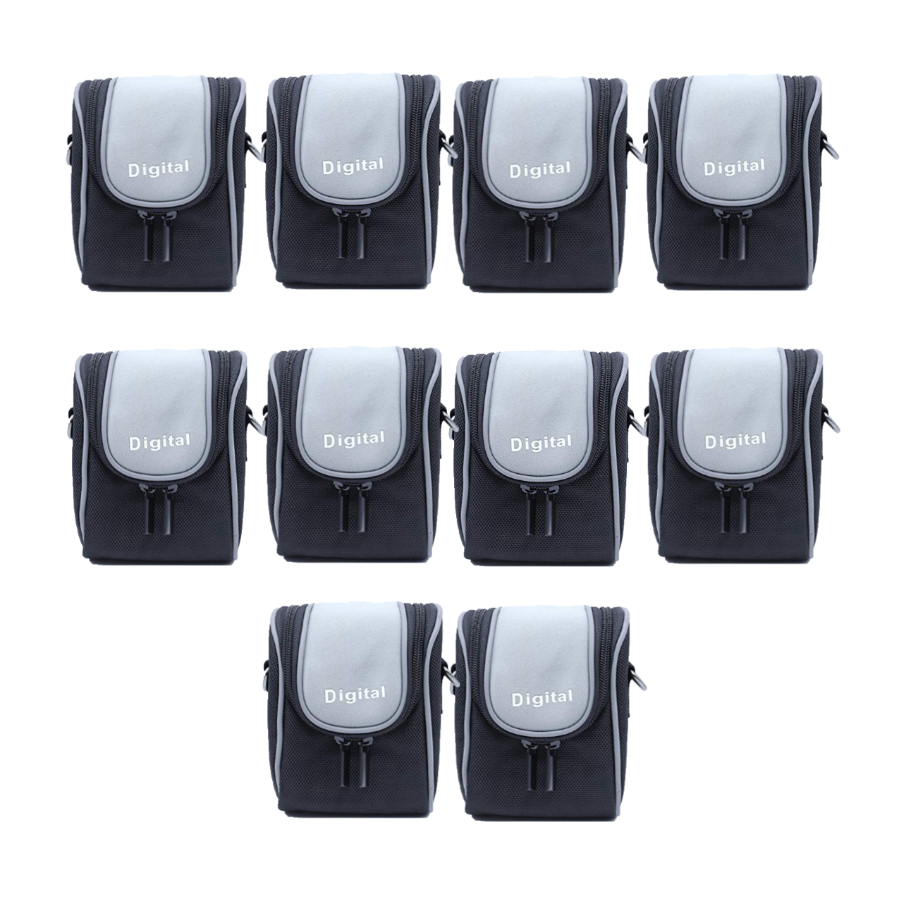 Solibag Durable Camera Case, Black -4004-2321 Pack Of 10Pcs Camcorder & Camera Accessories Camera Bags