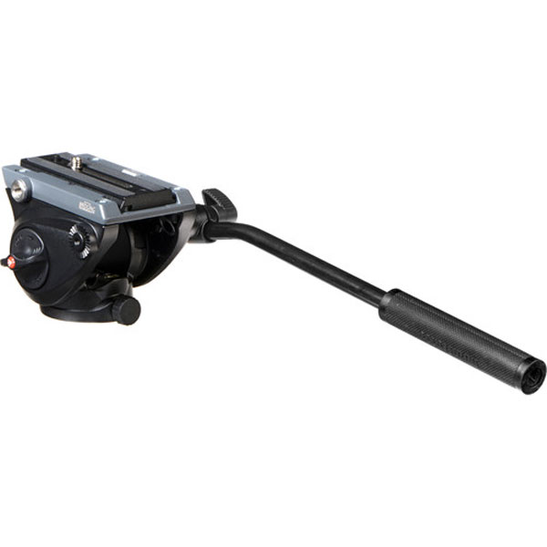 Manfrotto MVH500AH Fluid Video Head with Flat Base Pro Video Manfrotto