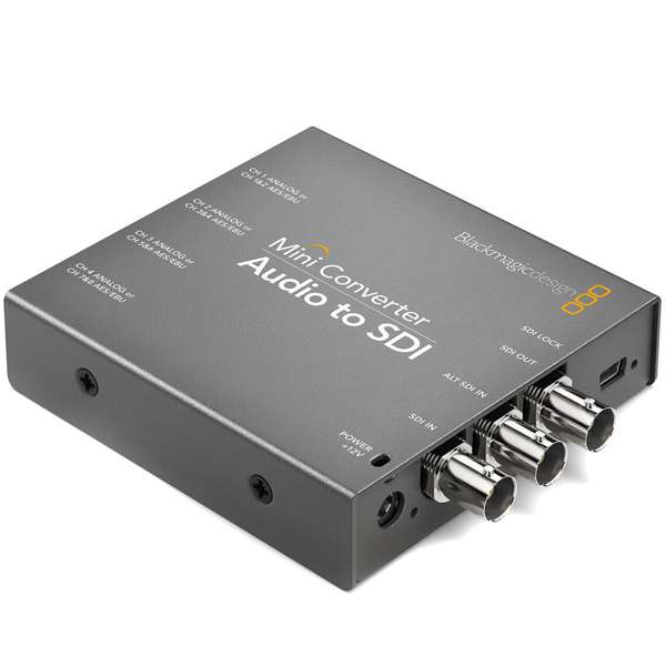 Blackmagic Design Audio to SDI Mini Converter CONVMCAUDS2 Audio audio