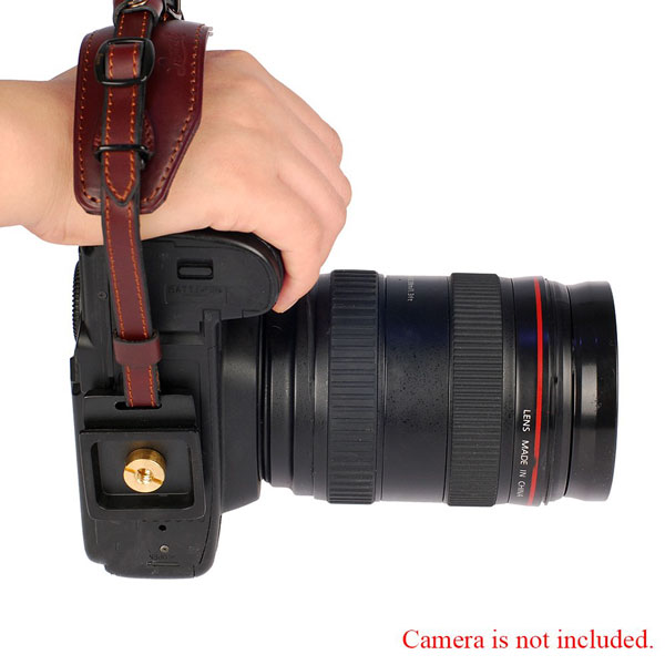 LYNCA Camera Hand Wrist Strap Belt with Metal Quick Release Plate – E6