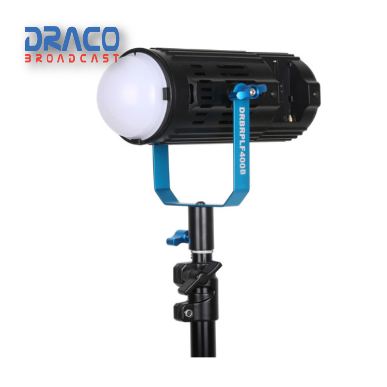 Dracast Boltray Plus 400 Daylight 3 Light Kit with Dual NP-F Battery Plates and Injection Molded Travel Case Continuous Lighting Draco Broadcast