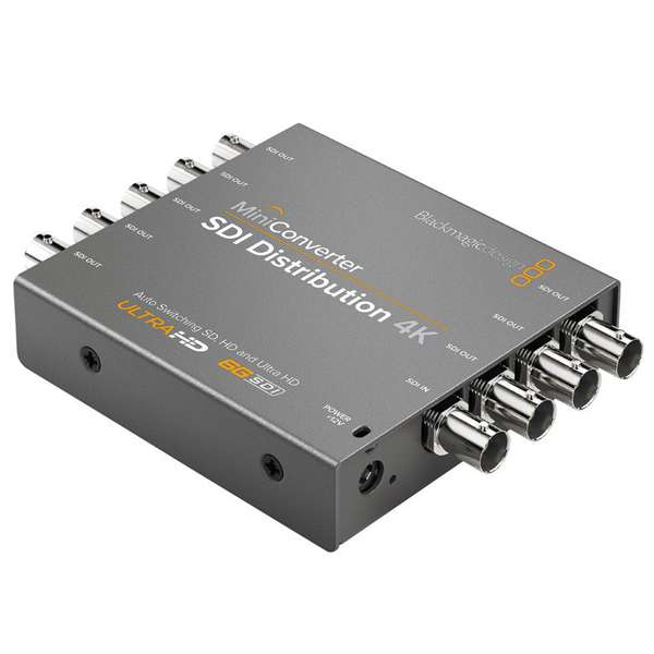Blackmagic Design Mini Converter SDI Distribution 4K Pro Video Black Magic