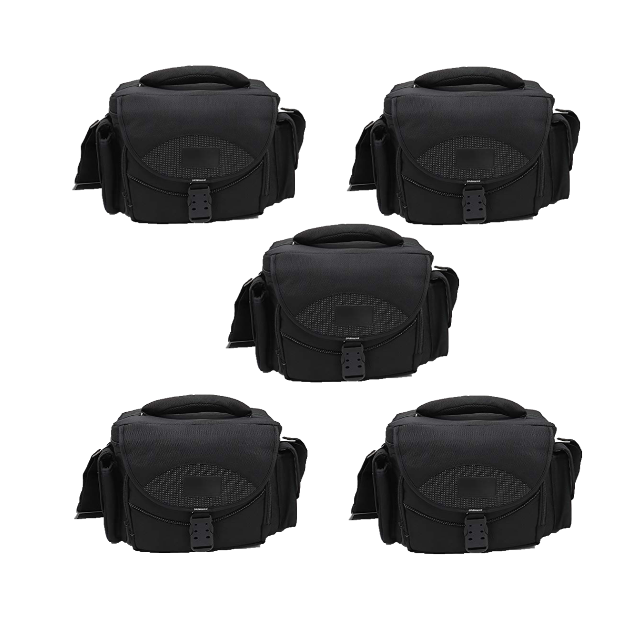 Solibag Shoulder Case -3000 Large Dslr Gadget Bag (Gray Interior) Pack Of 5Pcs Camera Bags Camera Bags