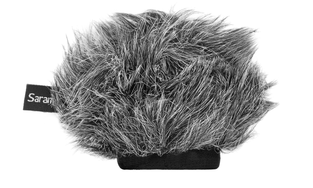 Saramonic Furry Windscreen for VMIC Stereo Microphone Accessories audio