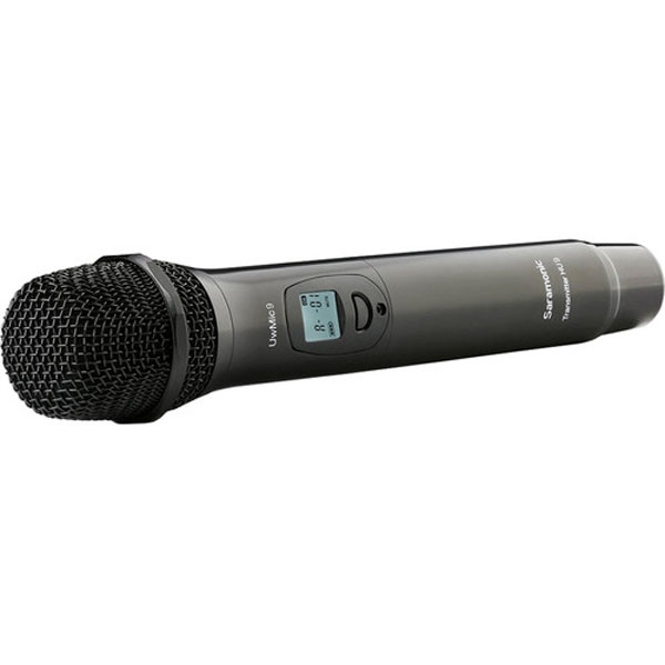 Saramonic HU9 96-Channel Digital UHF Wireless Handheld Mic for UwMic9 System Pro Audio audio