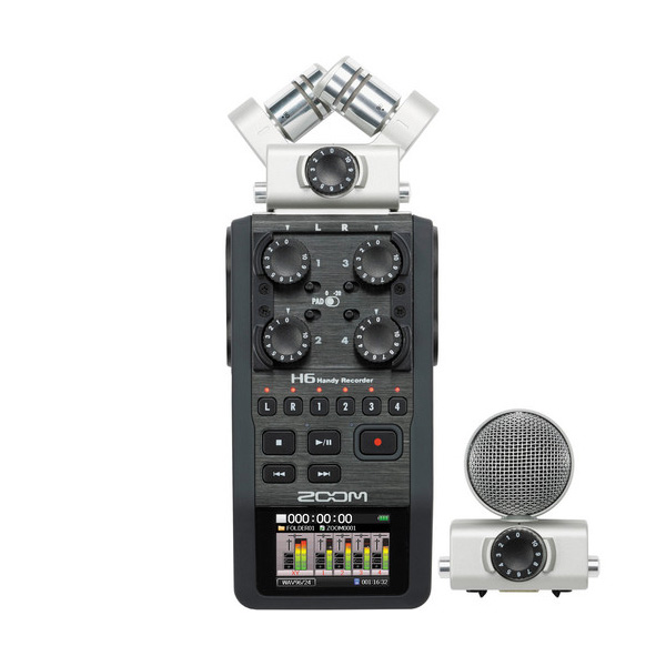 Zoom H6 Handy Recorder Audio audio