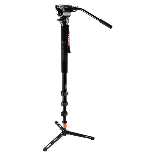 E-Image MA110 Video Monopod – Aluminium with GH03F Fluid Head Monopods & Accessories E-Image