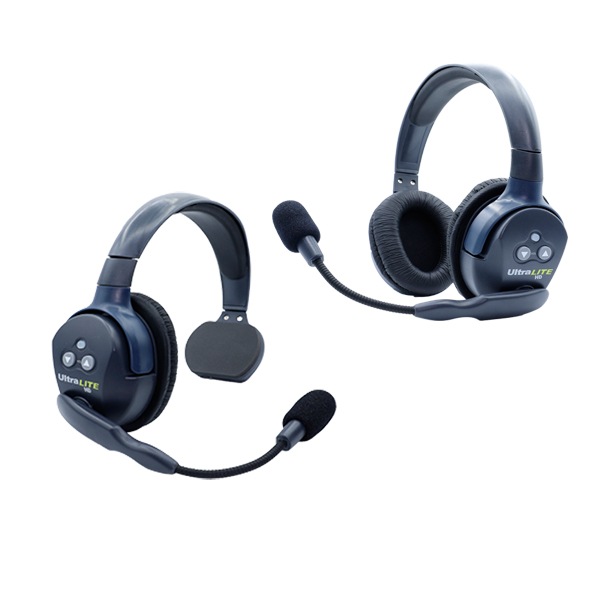 Eartec Ultralite HD 2 Person  System W/ 1 Single 1 Double Headset, Batteries, Charger & Case Intercom Systems Eartec