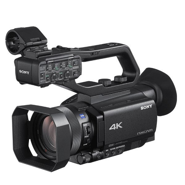 Sony Hxr-Nx80 4K Nxcam With Hdr & Fast Hybrid Af Pro camcorders & Cameras Pro Video