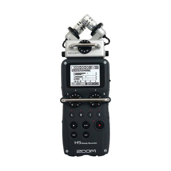 Zoom H5 Handy Recorder Portable Audio Digital Recorders audio
