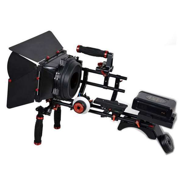 Sunrise Dslr Shoulder Mounted Rig – Dsm807 Pro Video Camera Support