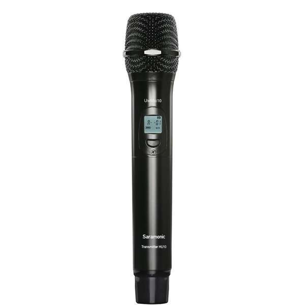 Hu10 96-Channel Digital Uhf Wireless Handheld Microphone With Integrated Transmitter Audio audio