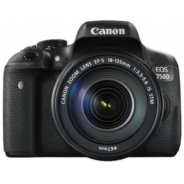 Canon EOS 750D DSLR Camera with 18-55mm IS STM DSLR Cameras Canon