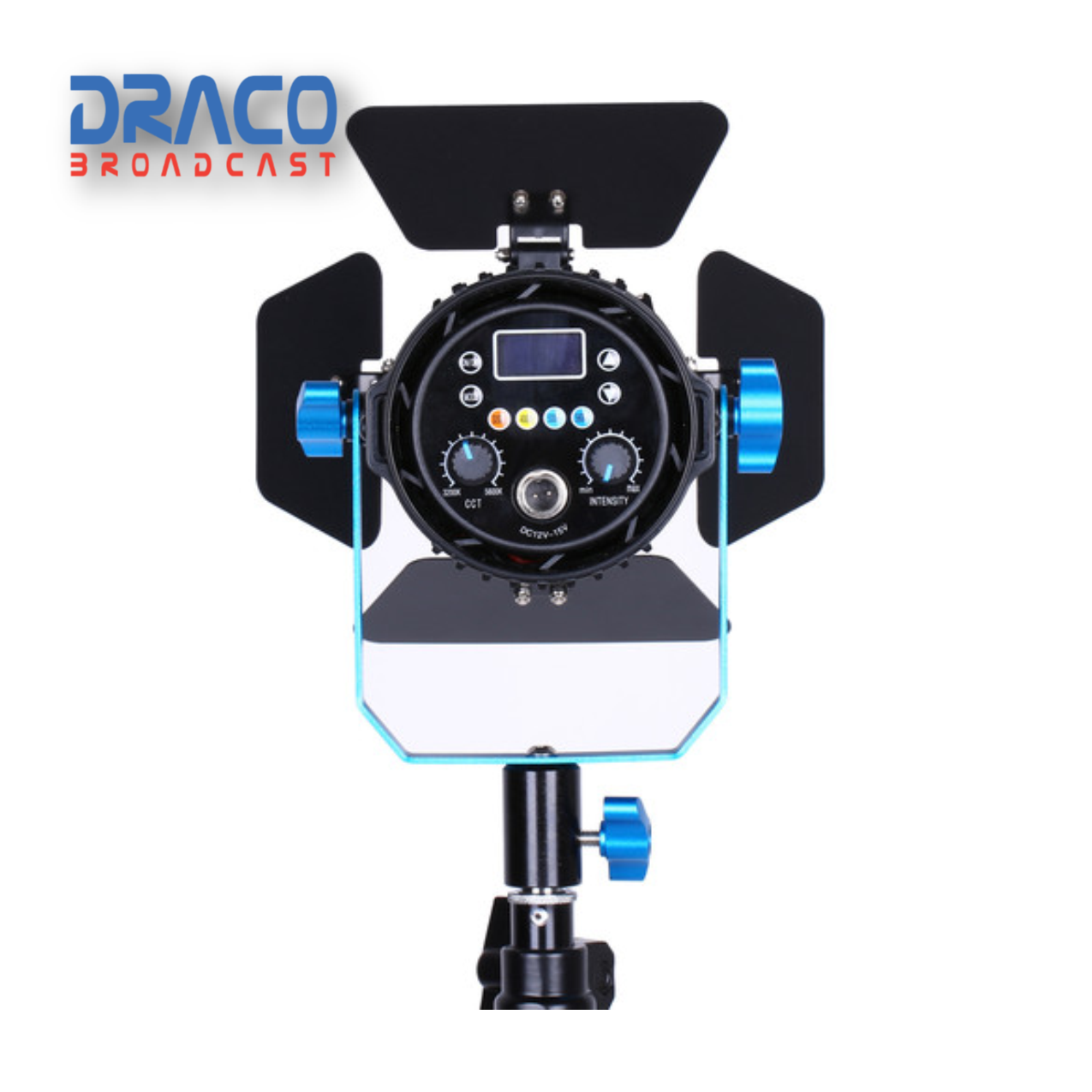 Dracast Boltray Plus 600 Daylight 3 Light Kit with Dual NP-F Battery Plates and Injection Molded Travel Case Kit Lights Draco Broadcast