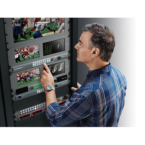 Blackmagic Design Smart Videohub 20 x 20 6G-SDI Pro Video Black Magic