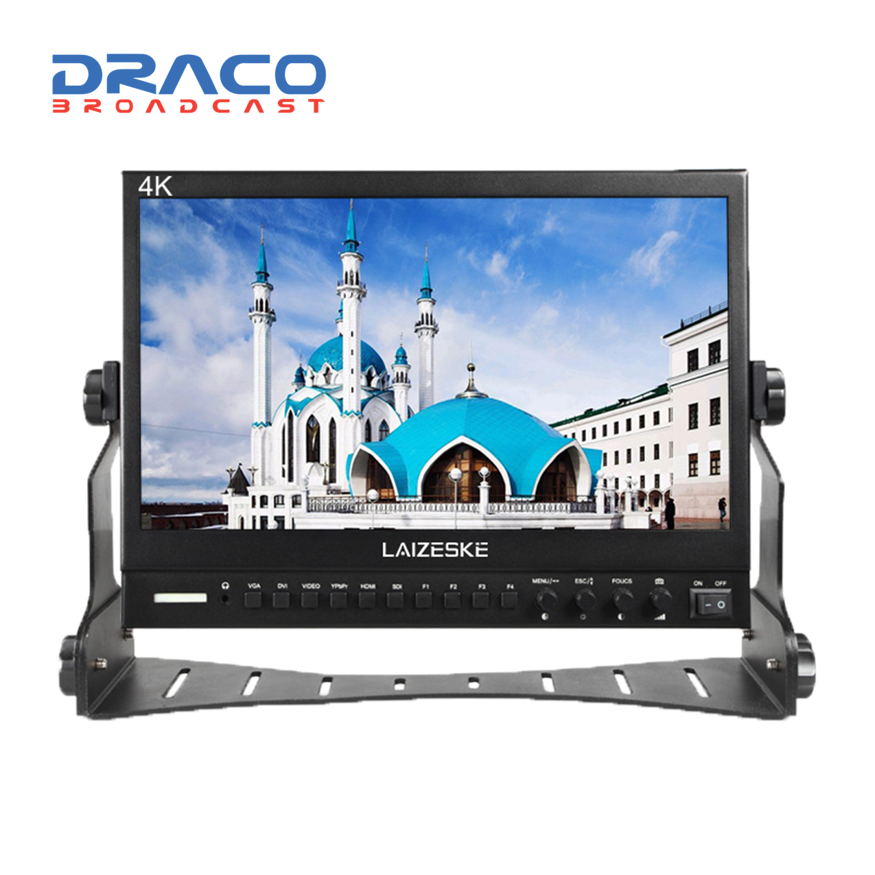 Laizeske 13.3″ Full HD IPS Multiformat Pro HDMI Broadcast LCD Monitor