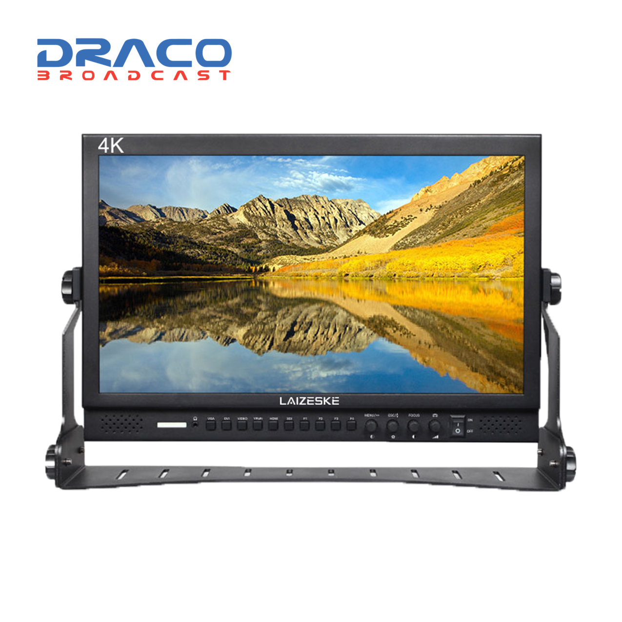 Laizeske DR173S 17.3″ Full HD LED-Backlit Multiformat Pro Broadcast LCD Monitor Monitors Draco Broadcast