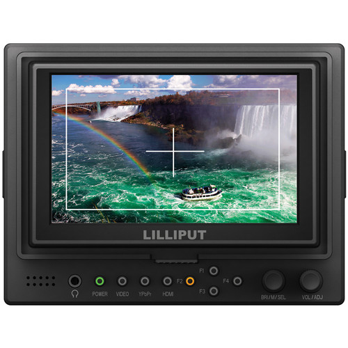 Lilliput 569/O 5″ On-Camera Monitor Monitors Lilliput