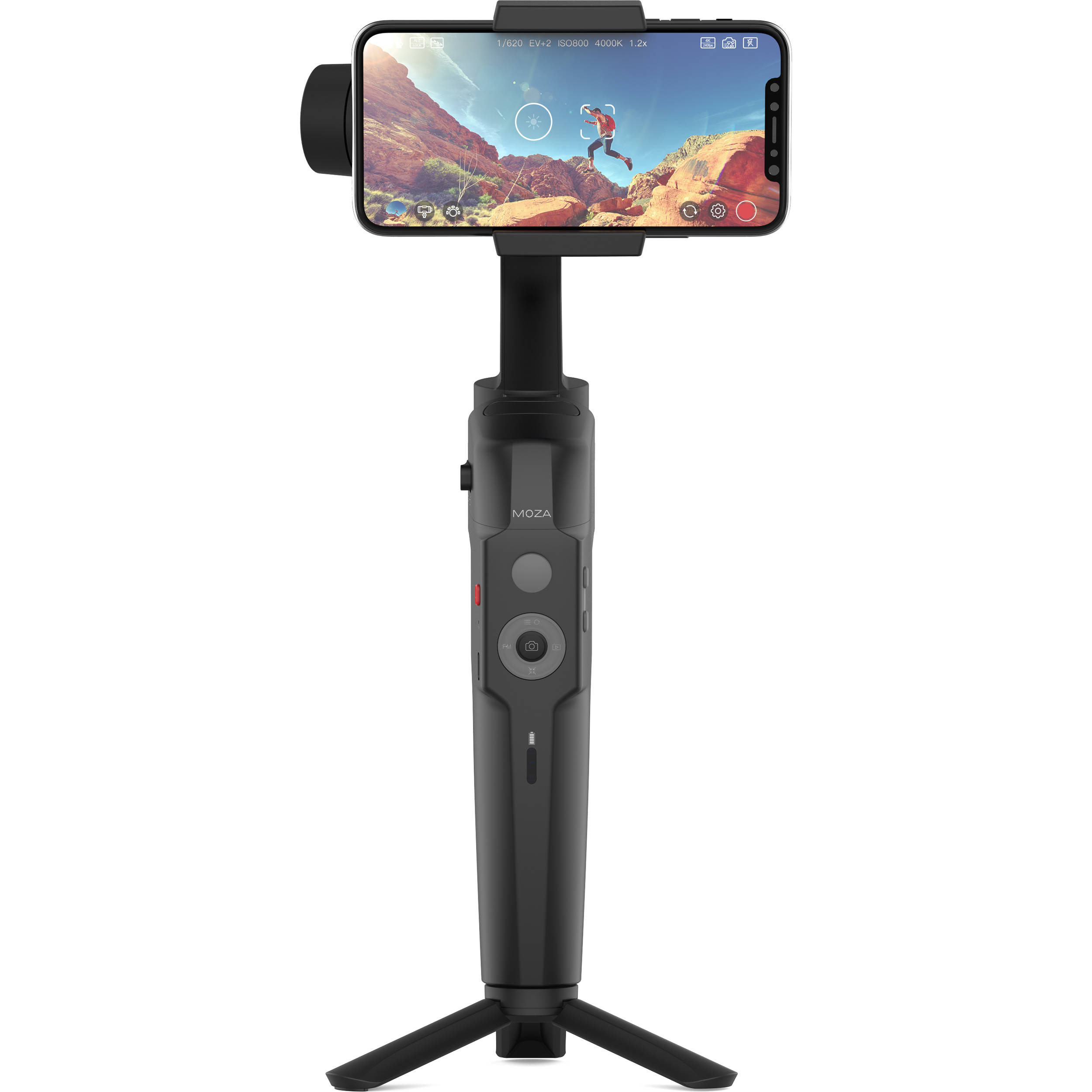 Moza Mini-S Essential Smartphone Gimbal (Black) Pro Video Gimbal & Stabilizer