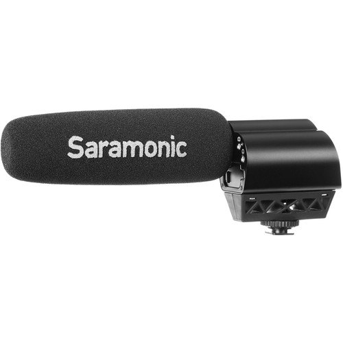 Saramonic VMIC Pro Super Directional Video Condenser Microphone Audio Wired Shotgun Mics ENG/EFP audio