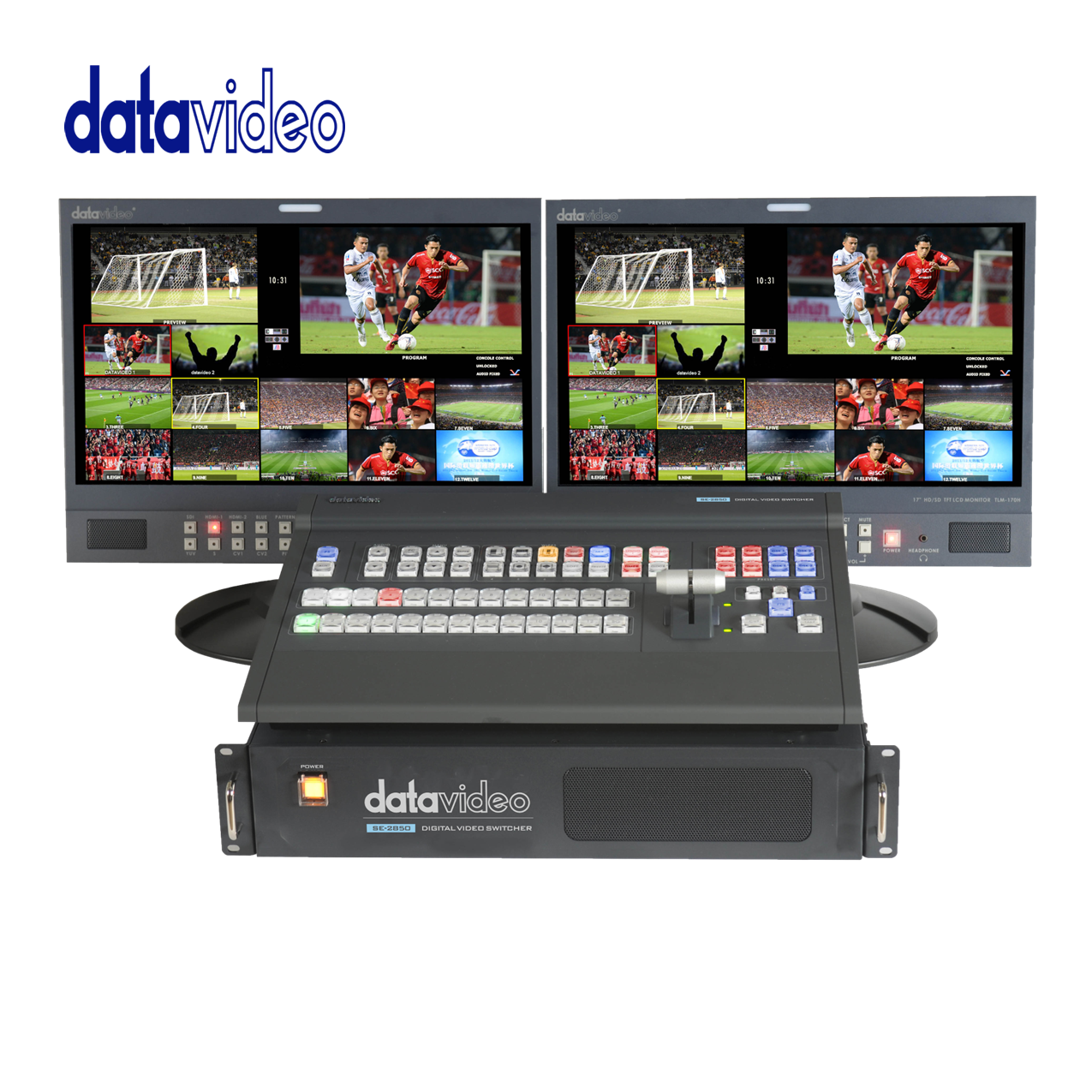 Datavideo SE-2850 HD/SD 12-Channel Digital Video Switcher Pro Video Data Video