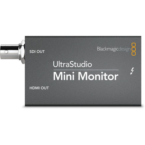 Blackmagic Design UltraStudio Mini Monitor Playback Device Pro Video Black Magic