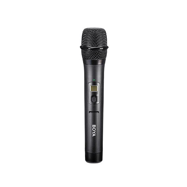 BOYA by-WHM8 Pro 48-Channel UHF Wireless Dynamic Handheld Cardioid Microphone Audio audio
