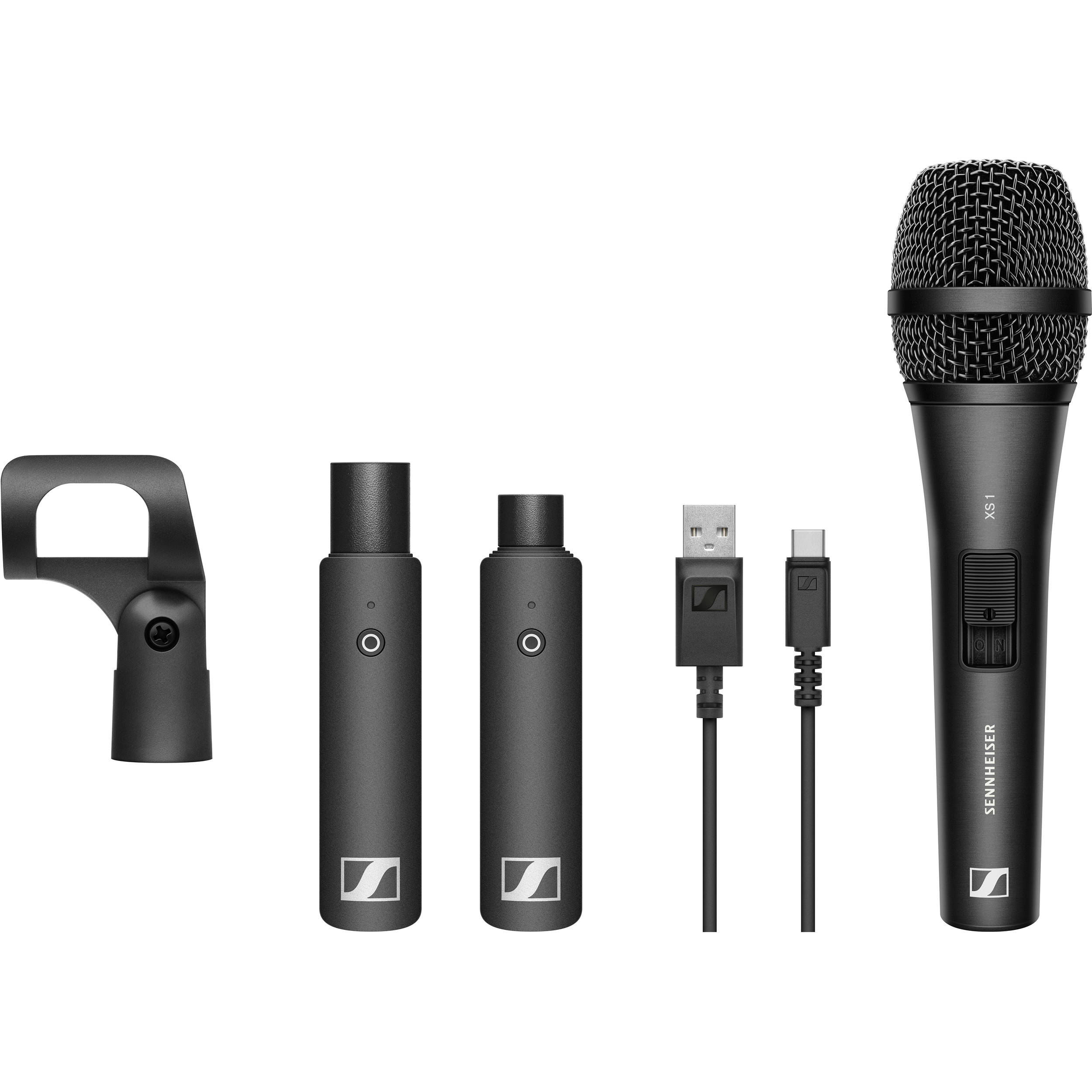 Sennheiser Xsw-D Portabele Interview Set Microphone Pro Audio audio