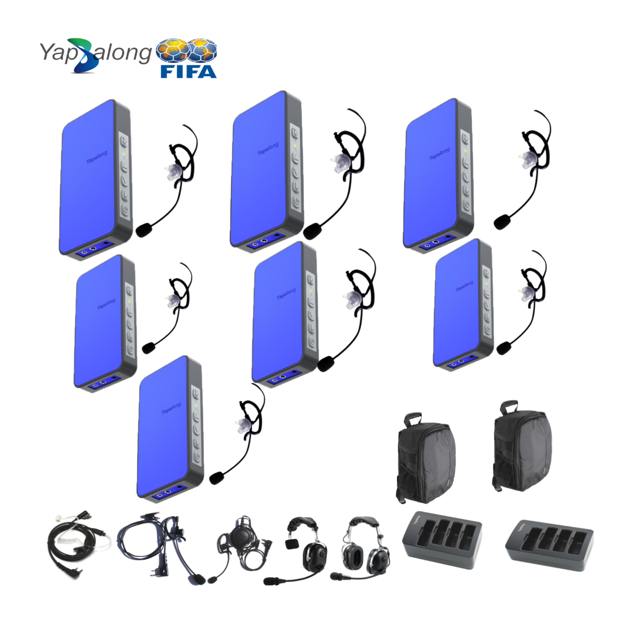 Yapalong 5000 (7-User) Complete Set Intercom Systems Intercom Systems