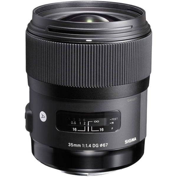 Sigma Lens – 35Mm F1.4 Dg Hsm (A) For Canon Digital Camera Lens Digital Camera Lens