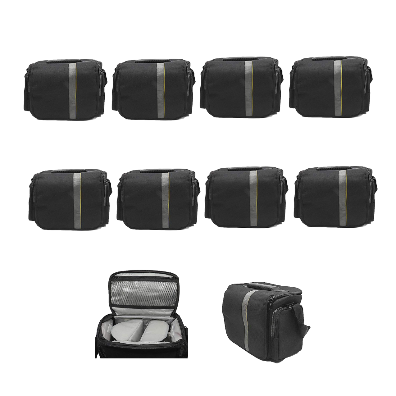 Waterproof Anti-Shock Dslr Camera Bag For Canon, Nikon, Samsung, And Sony Camera Bag -9004 Pack Of 10Pcs Camera Bags Camera Bags