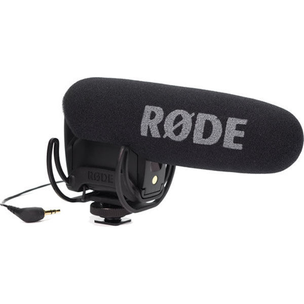 Rode VideoMic With Rycote Lyra Suspension System Audio Wired Shotgun Mics ENG/EFP audio
