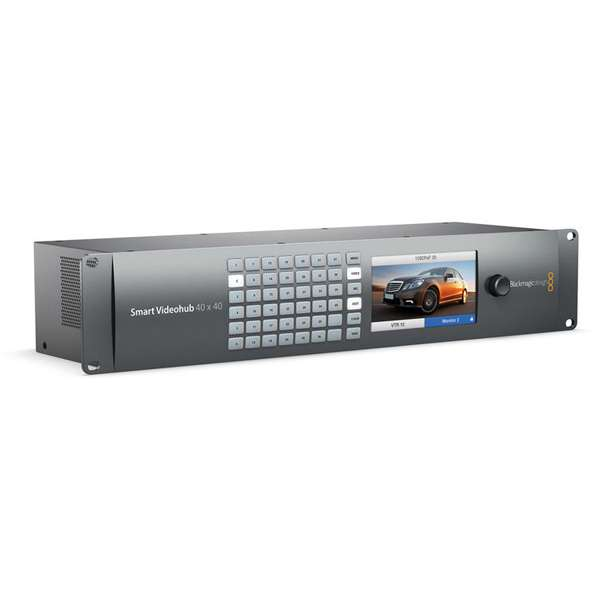 Blackmagic Design Smart Videohub 40 x 40 6G-SDI Pro Video Black Magic