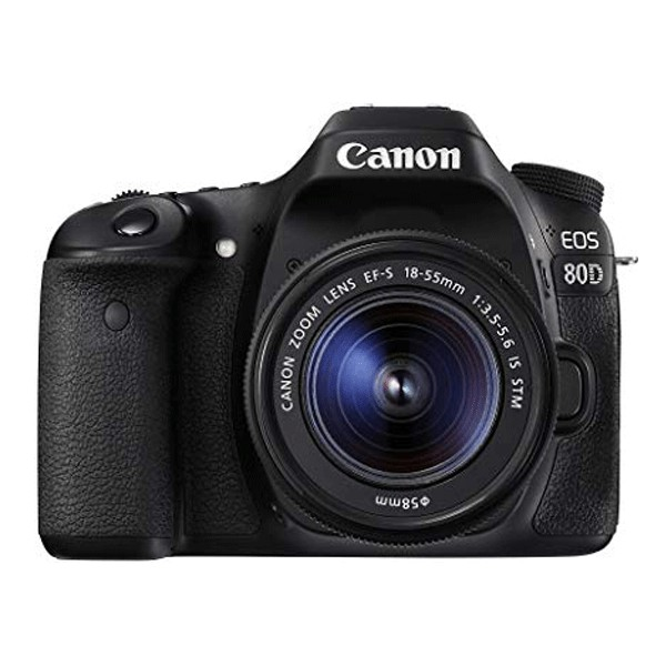 Canon EOS 80D DSLR Camera with 18-55mm Lens DSLR Cameras Canon