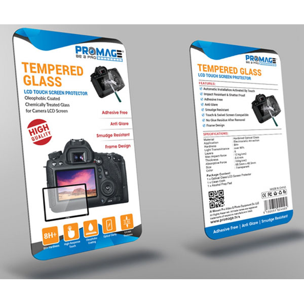 Promage LCD Screen Protector -7D Mark II Camcorder & Camera Accessories Cabel & Accessories